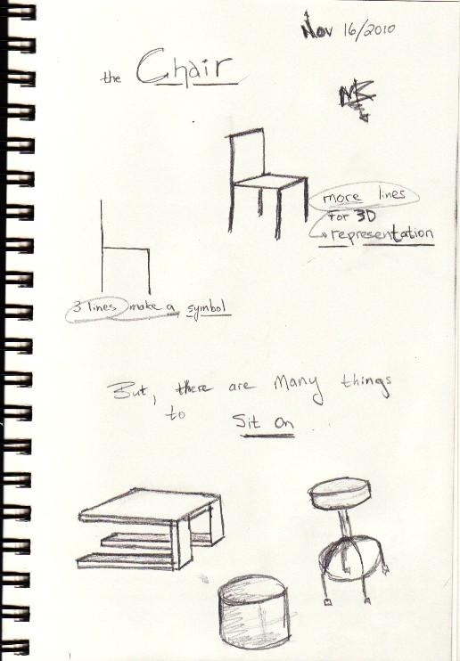A Chair?