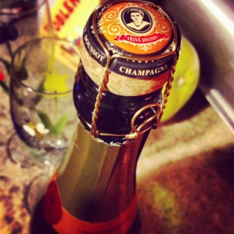 Champagne Veuve Doussot to bring in the New Year