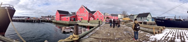 Waterfront of Lunenburg, Nova Scotia