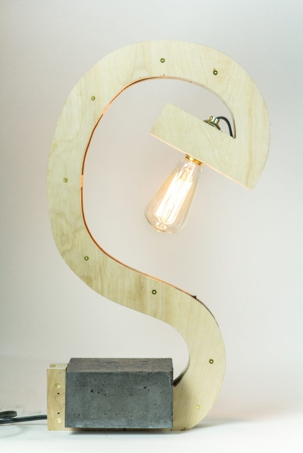 "Finished ""Wharf House"" Lamp"