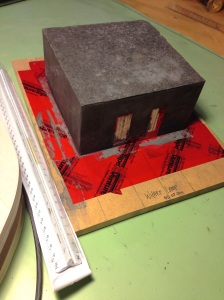 Concrete unmolded - formwork saved for repeat-ablitiy
